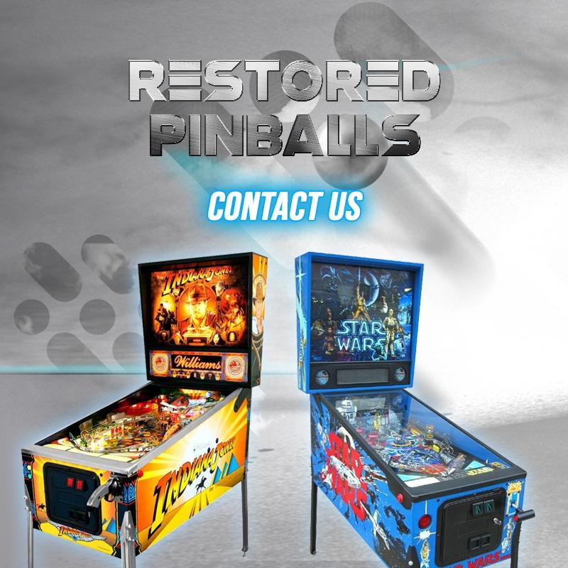 PINBALLS - Restaurados - Ingles
